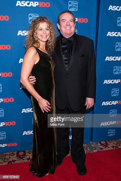 Laura Savini and Jimmy Webb attend the ASCAP Centennial Awards at The Waldorf Astoria on November 17 2014 in New York City