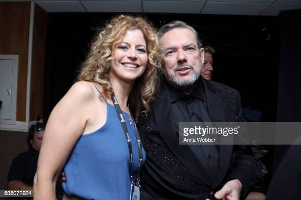 Laura Savini and Jimmy Webb attend the11th Annual ACM Honors at the Ryman Auditorium on August 23 2017 in Nashville Tennessee