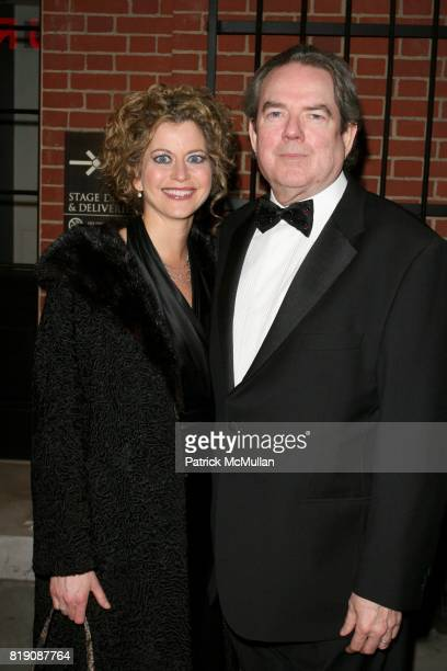 Laura Savini Webb and Jim Webb attend Opening Night of ALL ABOUT ME at Henry Miller's Theatre on March 18 2010 in New York City