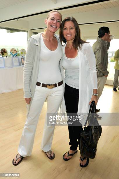 Laura Scott and Janine Dascenzo attend MIRACLE HOUSE 20th Anniversary Memorial Day Summer Kickoff Benefit honoring Amy Chanos and Jim Chanos at...