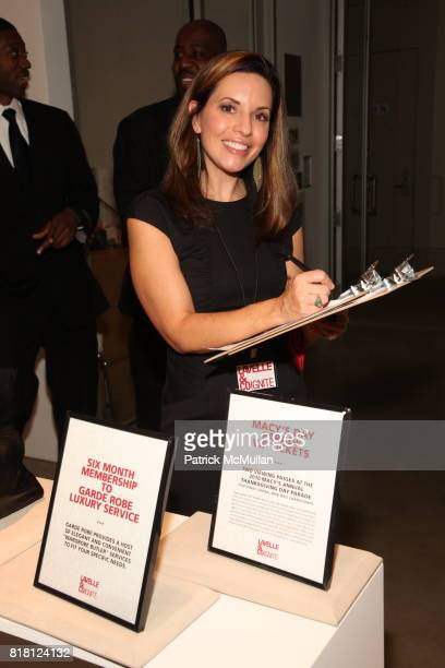 Laura Shafferman attends LAVELLE Co Launch Party at Marlborough Chelsea Gallery on November 8 2010 in New York
