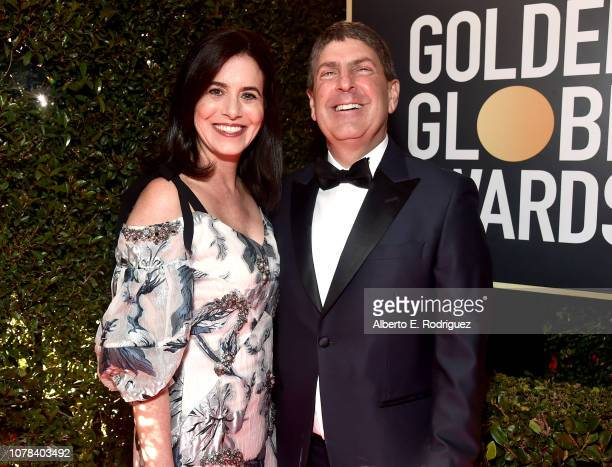 Laura Shell and Jeff Shell attends the 76th Annual Golden Globe Awards at The Beverly Hilton Hotel on January 6 2019 in Beverly Hills California