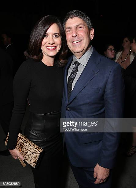 Laura Shell and Jeff Shell Chairman of Universal Filmed Entertainment Group attend the after party for Focus Features' Nocturnal Animals on November...