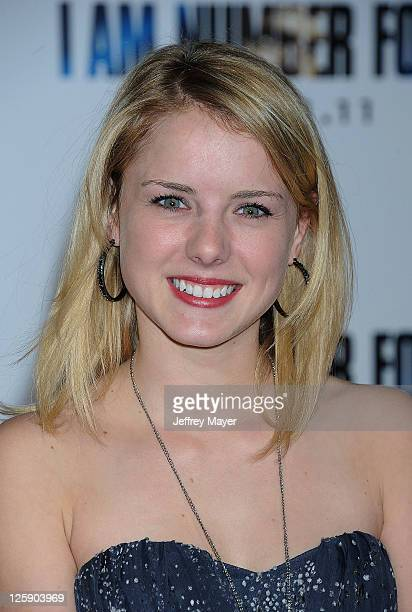 Laura Slade Wiggins arrives at the I Am Number Four Los Angeles premiere at Mann's Village Theatre on February 9 2011 in Westwood California