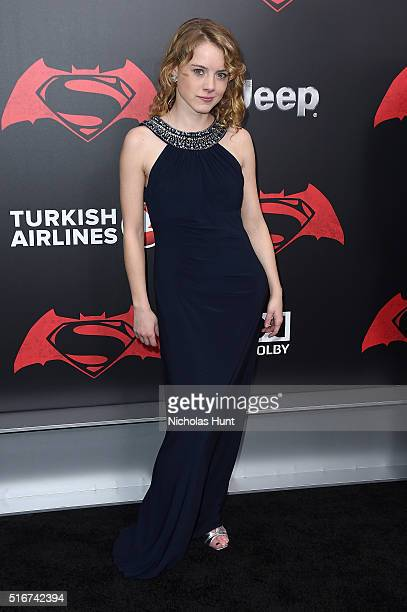 Laura Slade Wiggins attends the Batman V Superman Dawn Of Justice New York Premiere at Radio City Music Hall on March 20 2016 in New York City