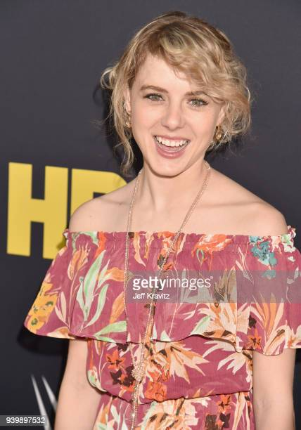 Laura Slade Wiggins attends the Los Angeles Premiere of Andre The Giant from HBO Documentaries on March 29 2018 in Los Angeles California