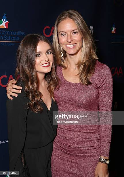 Laura Smallhouse and Creative Artists Agency Foundation's CoExecutive Director Rachel Kropa attend CAA's Young Hollywood Party Benefiting Communities...