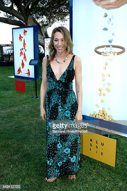 Laura Smet attends Fred Jeweler Celebrates 80 Years of Creation at Hotel Cap Estel in Eze France on June 23 2016