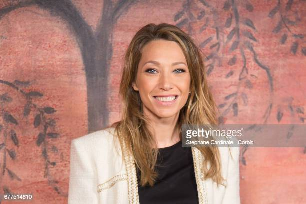 Laura Smet attends the Chanel Cruise 2017/2018 Collection : Photocall at Grand Palais on May 3, 2017 in Paris, France.
