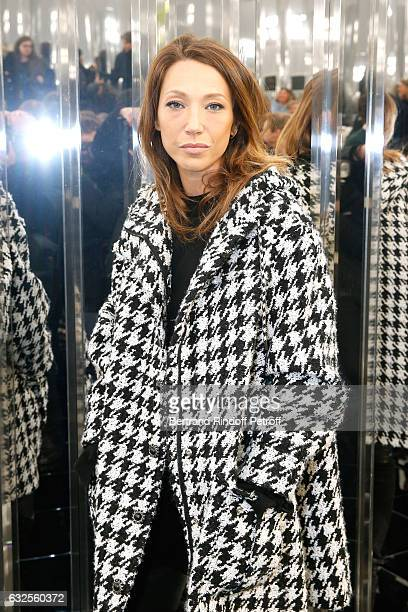 Laura Smet attends the Chanel Haute Couture Spring Summer 2017 show as part of Paris Fashion Week on January 24 2017 in Paris France