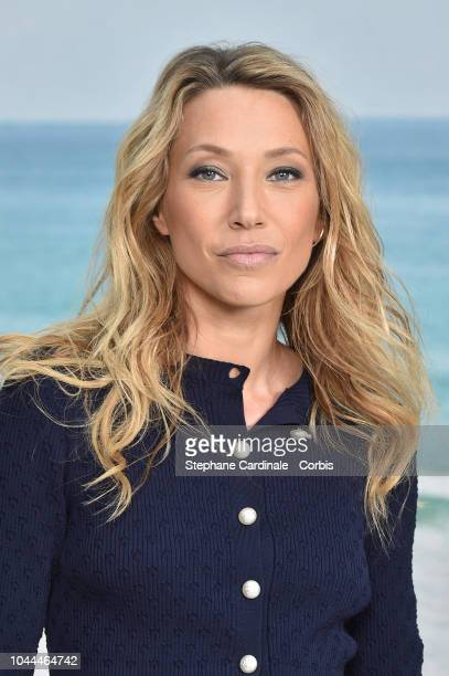 Laura Smet attends the Chanel show as part of the Paris Fashion Week Womenswear Spring/Summer 2019 on October 2 2018 in Paris France