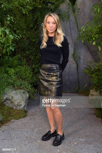 Laura Smet attends the Chanel show as part of the Paris Fashion Week Womenswear Spring/Summer 2018 on October 3 2017 in Paris France