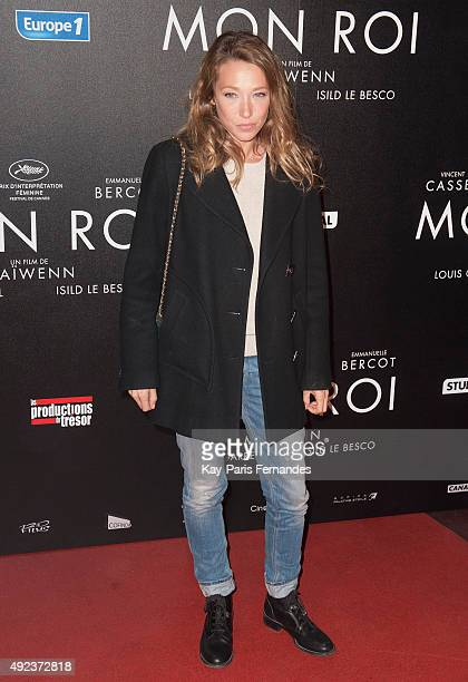 Laura Smet attends the 'Mon Roi' Paris Premiere at Cinema Gaumont Capucine on October 12 2015 in Paris France