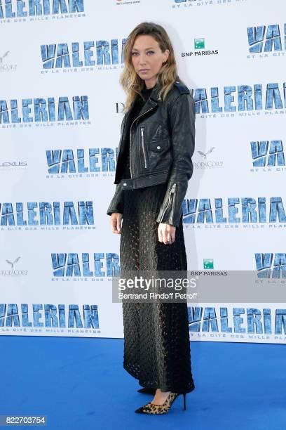 Laura Smet attends 'Valerian et la Cite des Mille Planetes' Paris premiere at La Cite Du Cinema on July 25 2017 in SaintDenis France