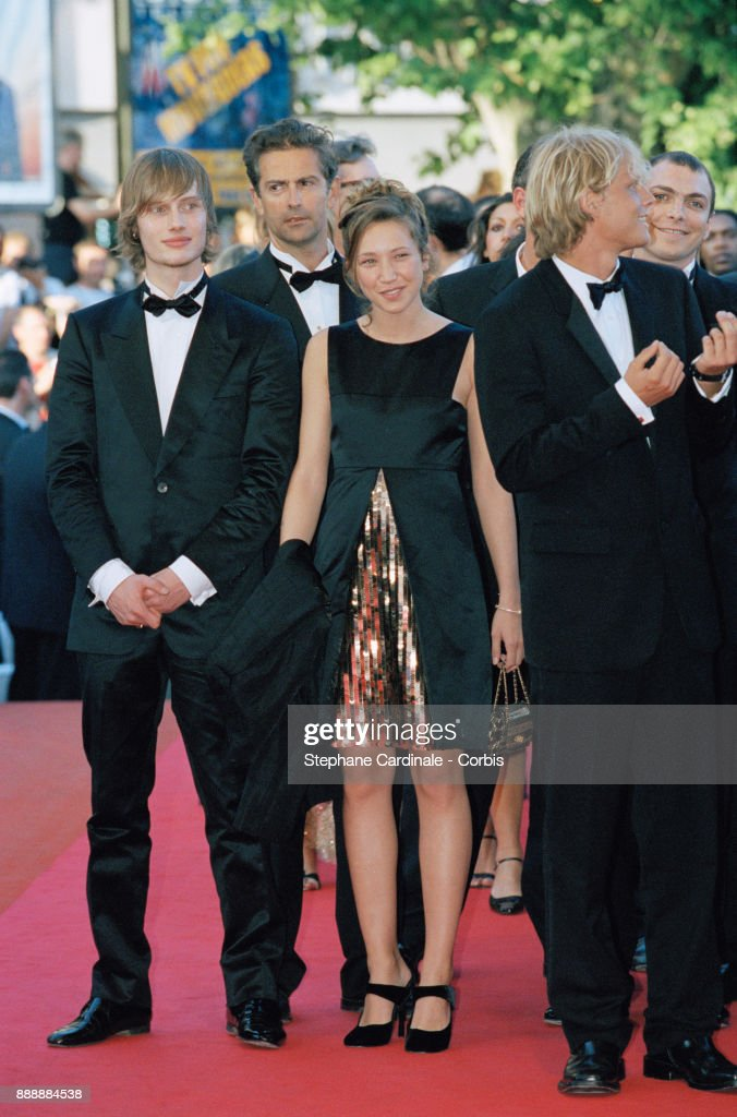 Laura Smet, daughter of Nathalie Baye and Johnny Hallyday, attending the Cannes Festival, Cannes, 15th May 2001