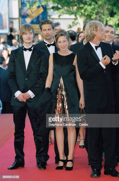 Laura Smet daughter of Nathalie Baye and Johnny Hallyday attending the Cannes Festival Cannes 15th May 2001