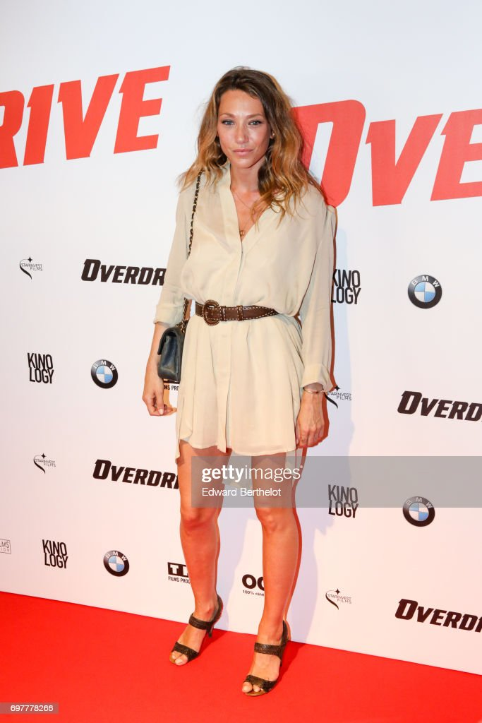 Laura Smet, during the 'Overdrive' Paris Premiere photocall at Cinema Gaumont Capucine on June 19, 2017 in Paris, France.