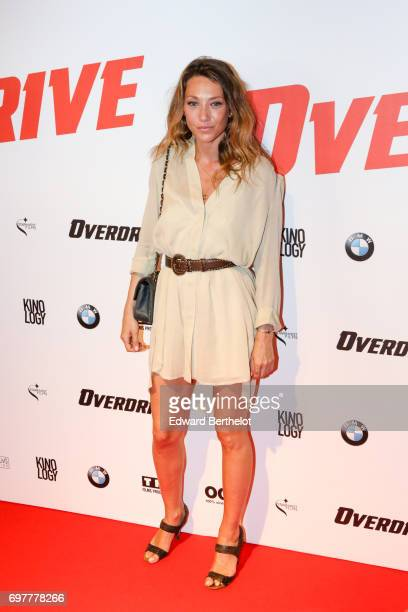 Laura Smet during the 'Overdrive' Paris Premiere photocall at Cinema Gaumont Capucine on June 19 2017 in Paris France