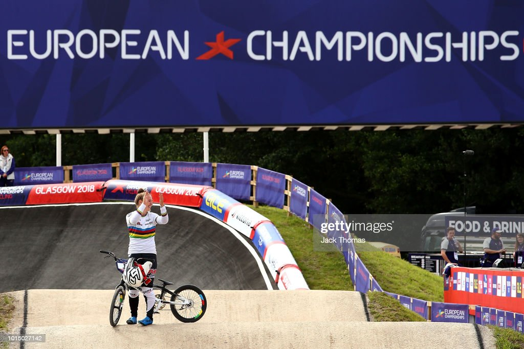 BMX - European Championships Glasgow 2018: Day Ten : Photo d'actualité