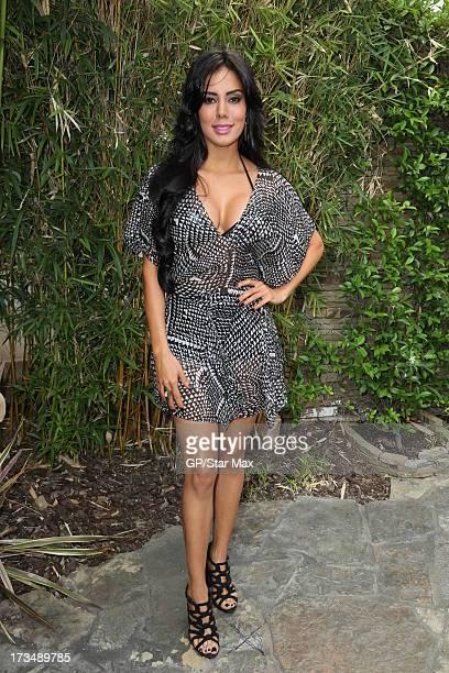 Laura Soares as seen on July 14 2013 in Los Angeles California