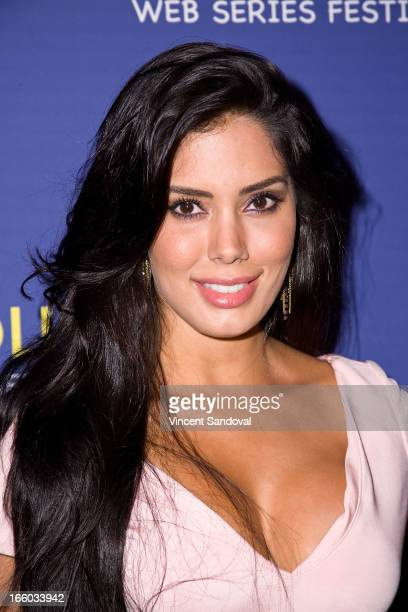 Laura Soares attends the 2nd annual HollyWeb Festival at Avalon on April 7 2013 in Hollywood California