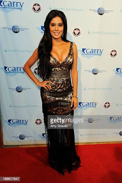 Laura Soares attends the CARRY Foundation's 7th Annual Shall We Dance Gala at The Beverly Hilton Hotel on May 11 2013 in Beverly Hills California
