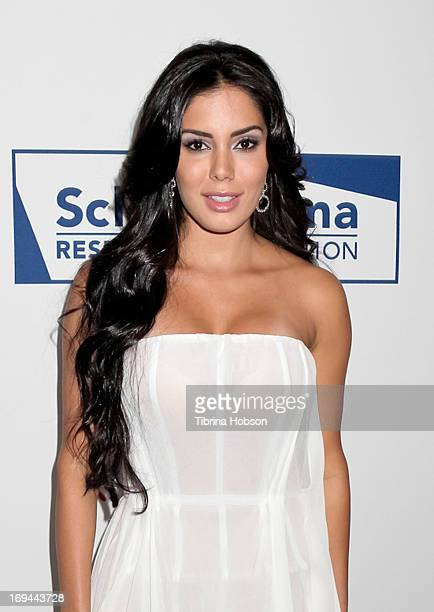 Laura Soares attends the Cool Comedy Hot Cuisine event to benefit the Scleroderma Research Foundation at Four Seasons Hotel Los Angeles at Beverly...