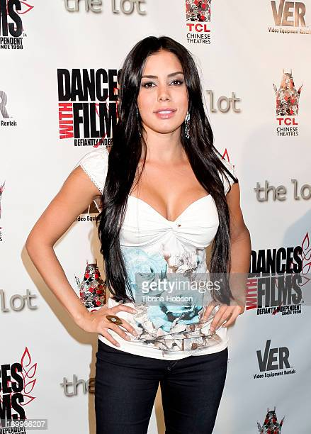 Laura Soares attends the Dances with Films Festival premiere of 'Broken Glass' at TCL Chinese Theatre on June 4 2013 in Hollywood California