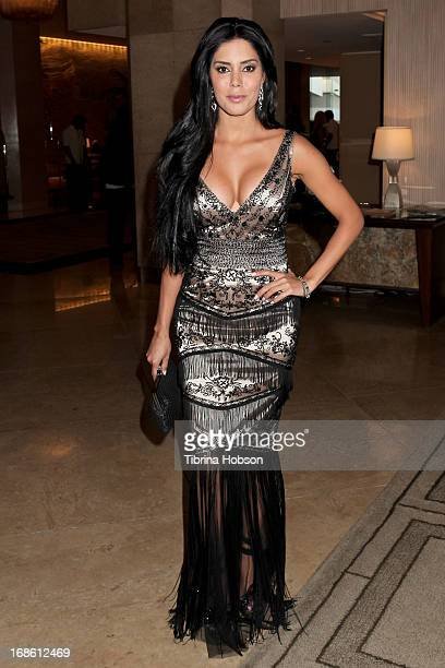 Laura Soares attends the 'Shall We Dance' annual gala for the coalition for atrisk youth at The Beverly Hilton Hotel on May 11 2013 in Beverly Hills...