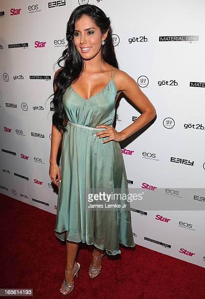 Laura Soares attends the Star Magazine's Hollywood Rocks Party held at the Playhouse Hollywood on April 4 2013 in Los Angeles California