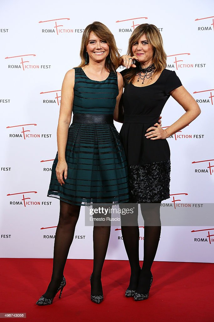 Laura Squizzato and Silvia Squizzato attend the 'Lea' red carpet during the RomaFictionFest 2015 at Auditorium Conciliazione on November 11, 2015 in Rome, Italy.