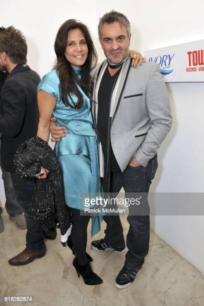 Laura Stark and Martin Lawrence Bullard attend Elijah Blue And Kantor Gallery Present 'StepandRepeat' at Kantor Gallery on February 24 2010 in Los...