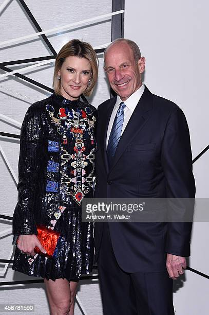 Laura Steinberg and Jonathan Tisch attends The Museum of Modern Art's 2014 Film Benefit Honoring Alfonso Cuaron at The Museum of Modern Art on...