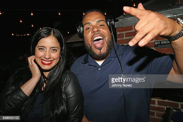Laura Stylez and DJ Enuff attend Haute Living Celebrates DJ Khaled And Nicole Khaled Presented By JetSmarter on June 6 2016 in New York City