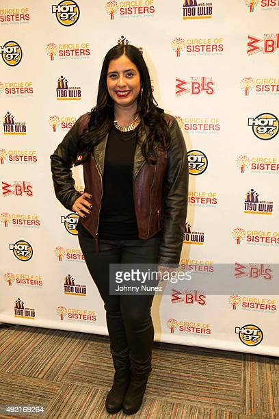 Laura Stylez attends the 2015 Circle Of Sisters Expo at Jacob Javitz Center on October 17 in New York City