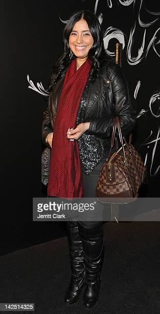 Laura Stylez attends the Hennessy Wild Rabbit campaign launch event at the Highline Studios on April 5 2012 in New York City
