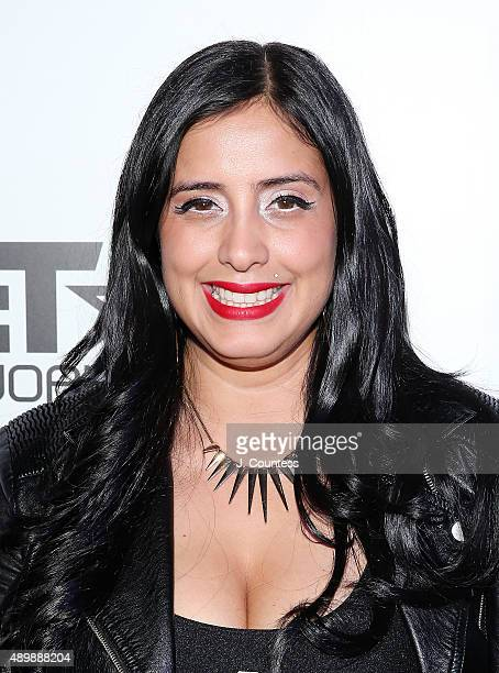 Laura Stylez attends the premiere of Stretch and Bobbito Radio That Changed Lives at the AMC Empire 25 theater on September 24 2015 in New York City