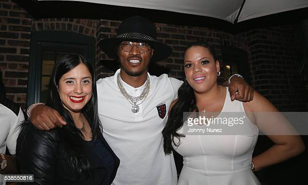 Laura Stylez Future and TT Torez attend Haute Living Celebrates DJ Khaled And Nicole Khaled Presented By JetSmarter on June 6 2016 in New York City