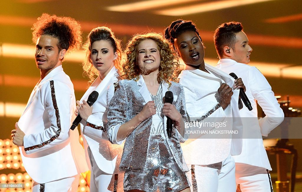 SWEDEN-ENTERTAINMENT-EUROVISION-SONG-CONTEST : News Photo