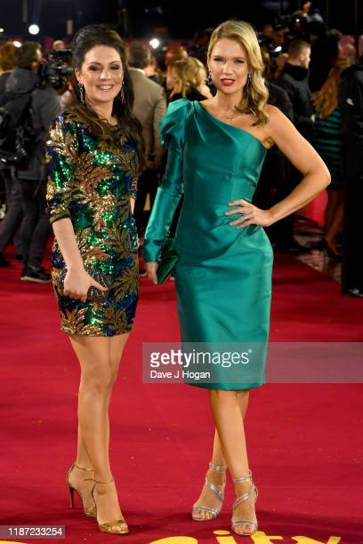 Laura Tobin and Charlotte Hawkins attend the ITV Palooza 2019 at The Royal Festival Hall on November 12 2019 in London England