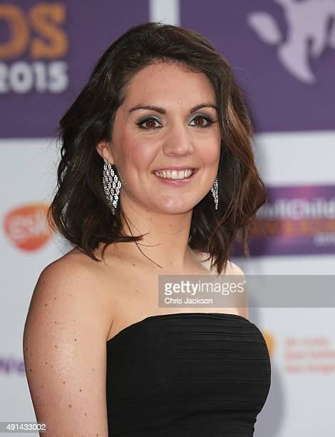 Laura Tobin arrives at the WellChild Awards at the London Hilton on October 5 2015 in London England