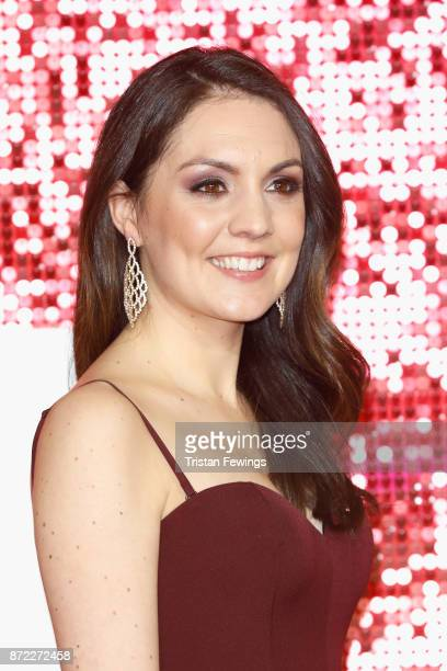 Laura Tobin arriving at the ITV Gala held at the London Palladium on November 9 2017 in London England