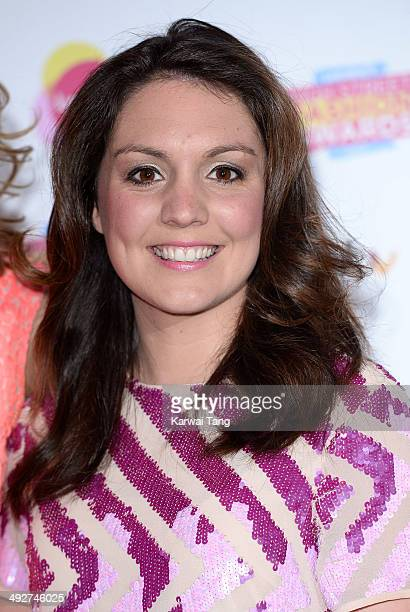 Laura Tobin attends Lorraine's High Street Fashion Awards held at Vinopolis on May 21 2014 in London England