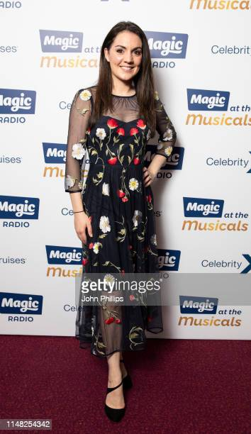Laura Tobin attends Magic at the Musicals at Royal Albert Hall on May 10 2019 in London England
