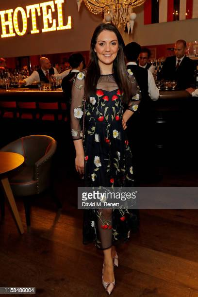 Laura Tobin attends the Debenhams Beauty Club Community Awards 2019 at Ham Yard Hotel on June 26 2019 in London England