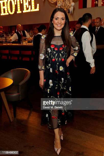 Laura Tobin attends the Debenhams Beauty Club Community Awards 2019 at Ham Yard Hotel on June 26 2019 in London England