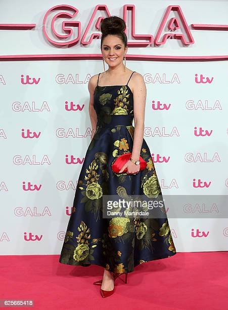Laura Tobin attends the ITV Gala at London Palladium on November 24 2016 in London England