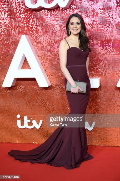 Laura Tobin attends the ITV Gala at the London Palladium on November 9 2017 in London England
