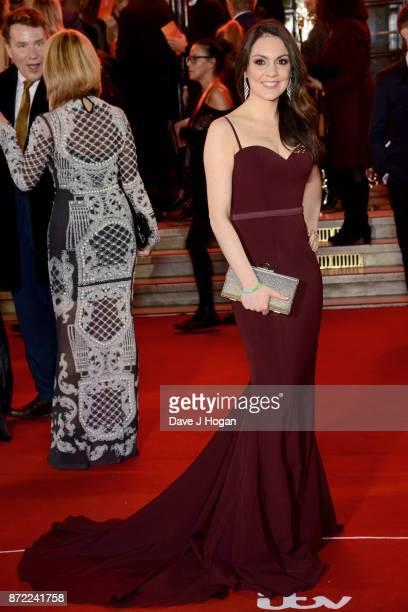 Laura Tobin attends the ITV Gala held at the London Palladium on November 9 2017 in London England