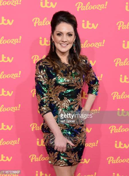 Laura Tobin attends the ITV Palooza 2019 at the Royal Festival Hall on November 12 2019 in London England